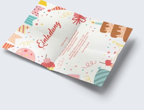 Geburtstagskarten einladung online