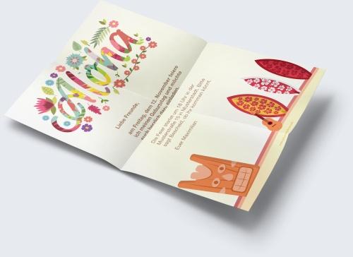 Kostenlose Geburtstagskarte Vorlage Hawaii-Party online erstellen