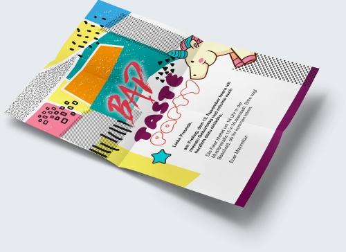 Geburtstagskarte Zur Bad Taste Feier Kostenlos Gestalten