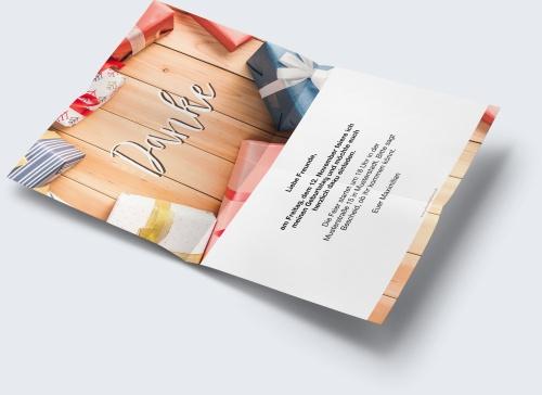 Kostenlose Geburtstagskarte Vorlage Danke Fur Geschenk Online Erstellen