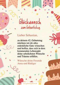 Glückwünsche Und Grußkarten Zum Geburtstag